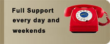 Speak to us in person for support every day of the week, evenings and during the weekend